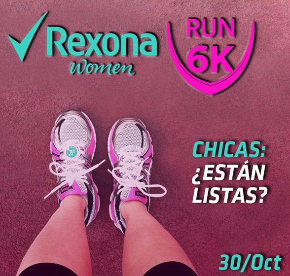 rexona women run 6k